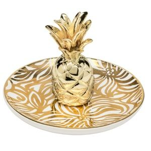 Lilly Pullitzer Pineapple Ring/Accessory Holder